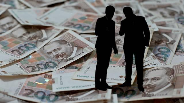 Oko 200 milijuna kuna iz tvrtki isplaćivali na privatne račune