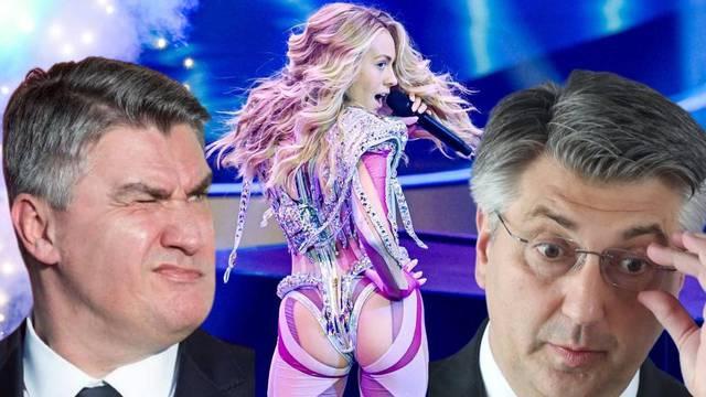 Kako je Albina učinila nemoguće i Eurosongom ujedinila Andreja Plenkovića i Zorana Milanovića