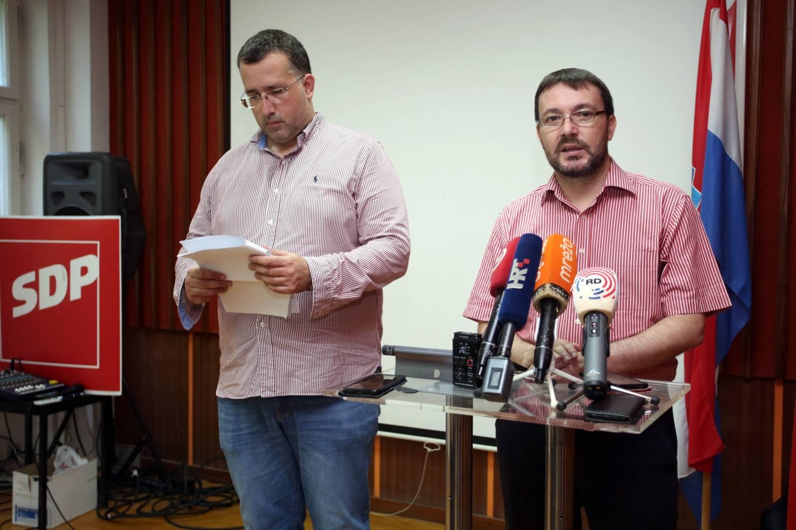 Split:  Arsen Bauk i i Goran Kotur predstavili SDP-ov antikorupcijski plan