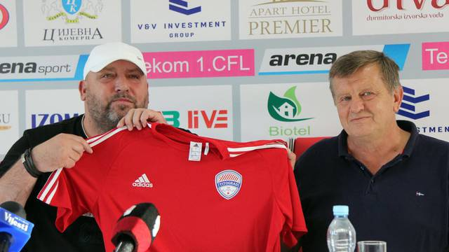 Igor Pamić preuzeo Titograd, pomoćnik mu Stjepan Deverić