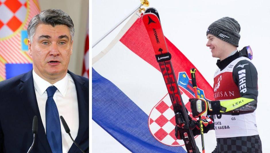 Milanovićeva prva čestitka kao predsjednika: Bravo, Filipe!