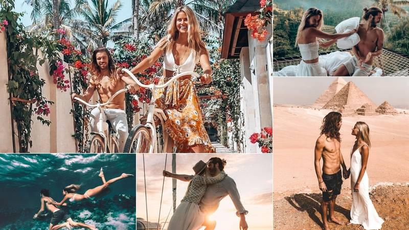 Poznati Influencerski par: Evo kako možete živjeti kao nomadi i zarađivati više nego pristojno