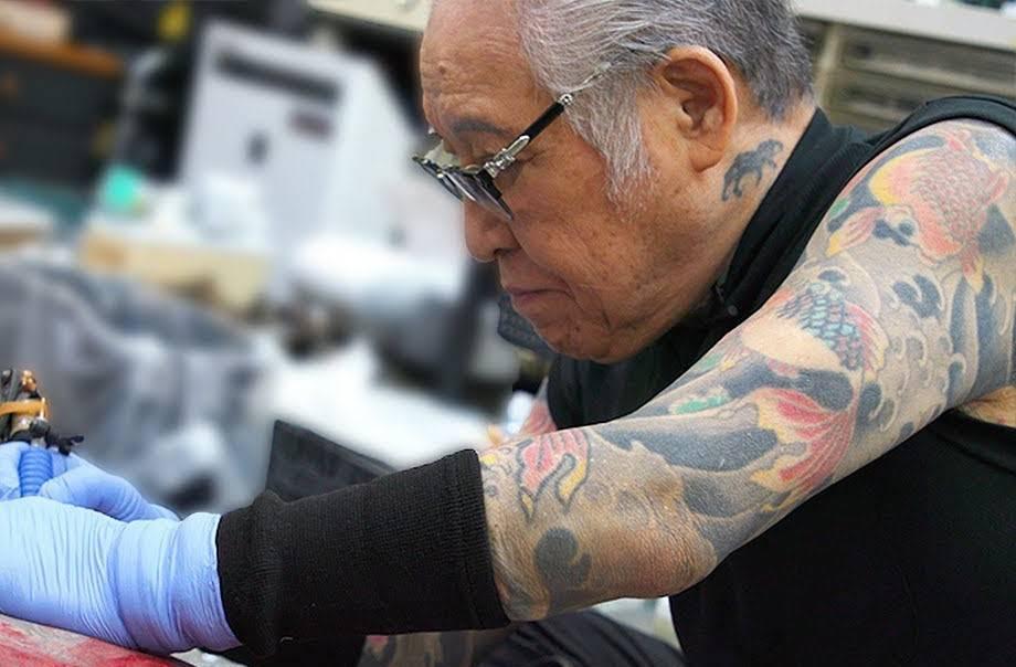 Japanski majstor tetovaže ima 73 godine i još uvijek tetovira
