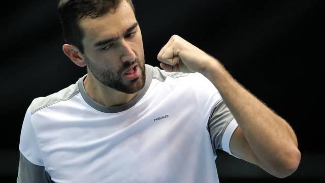 Zagreb: Kvalifikacije Davis Cupa, Hrvatska - Indija, Marin Čilić - Ramkumar Ramanathan