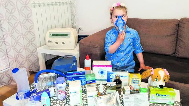 Vapaj majke: 'Mojoj Evi treba lijek, ona bez njega propada'