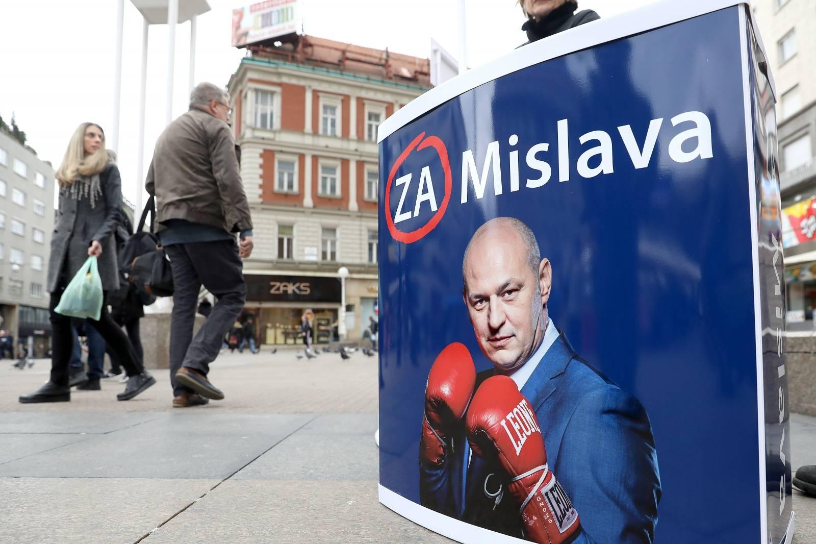 Zagreb: Počelo prikupljanje potpisa za listu Mislava Kolakušića