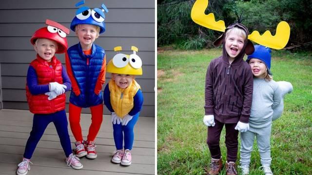 Mama svaki dan u listopadu izrađuje kostime za Noć vještica svojoj djeci - pregenijalni su!