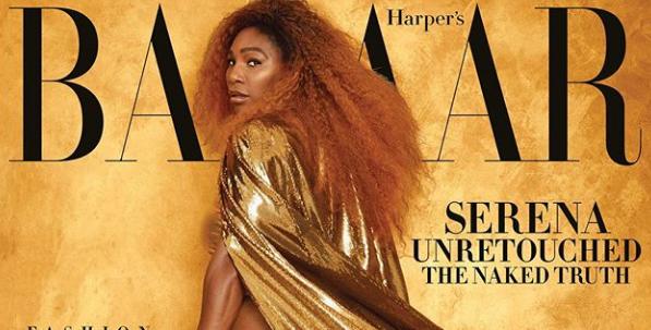 Serena se skinula za časopis i 'servirala' pozamašnu pozadinu