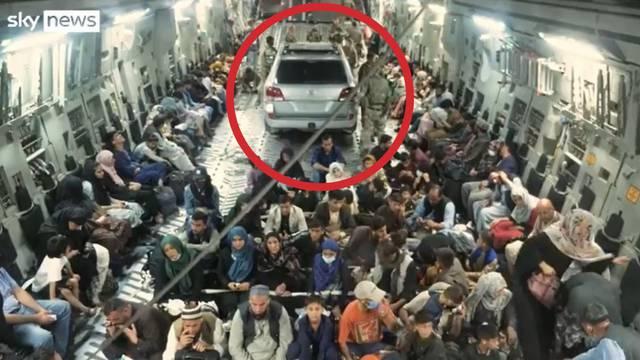 Što je, dovraga, sad ovo?! Mogli spasiti još 50 ljudi, oni u avion za evakuaciju utrpali limuzinu?!