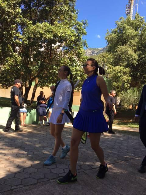 20 godina poslije: Iva Majoli i Martina Hingis odigrale meč