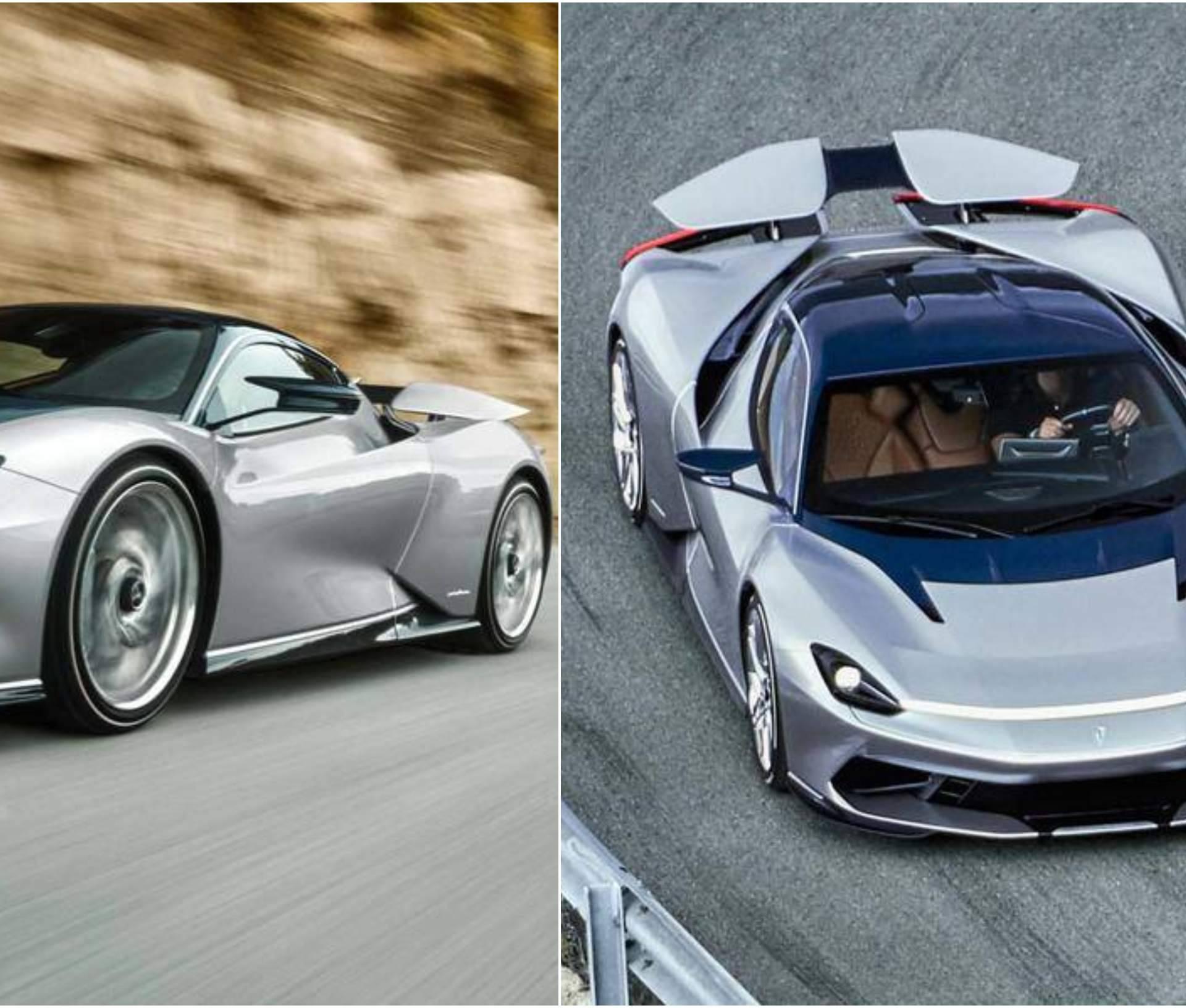 Prve fotografije nove elektro zvijeri Rimca i Pininfarina...