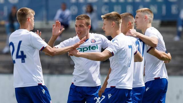 Juniori Hajduka pobjedom na Maksimiru osvojili Prvu HNL!