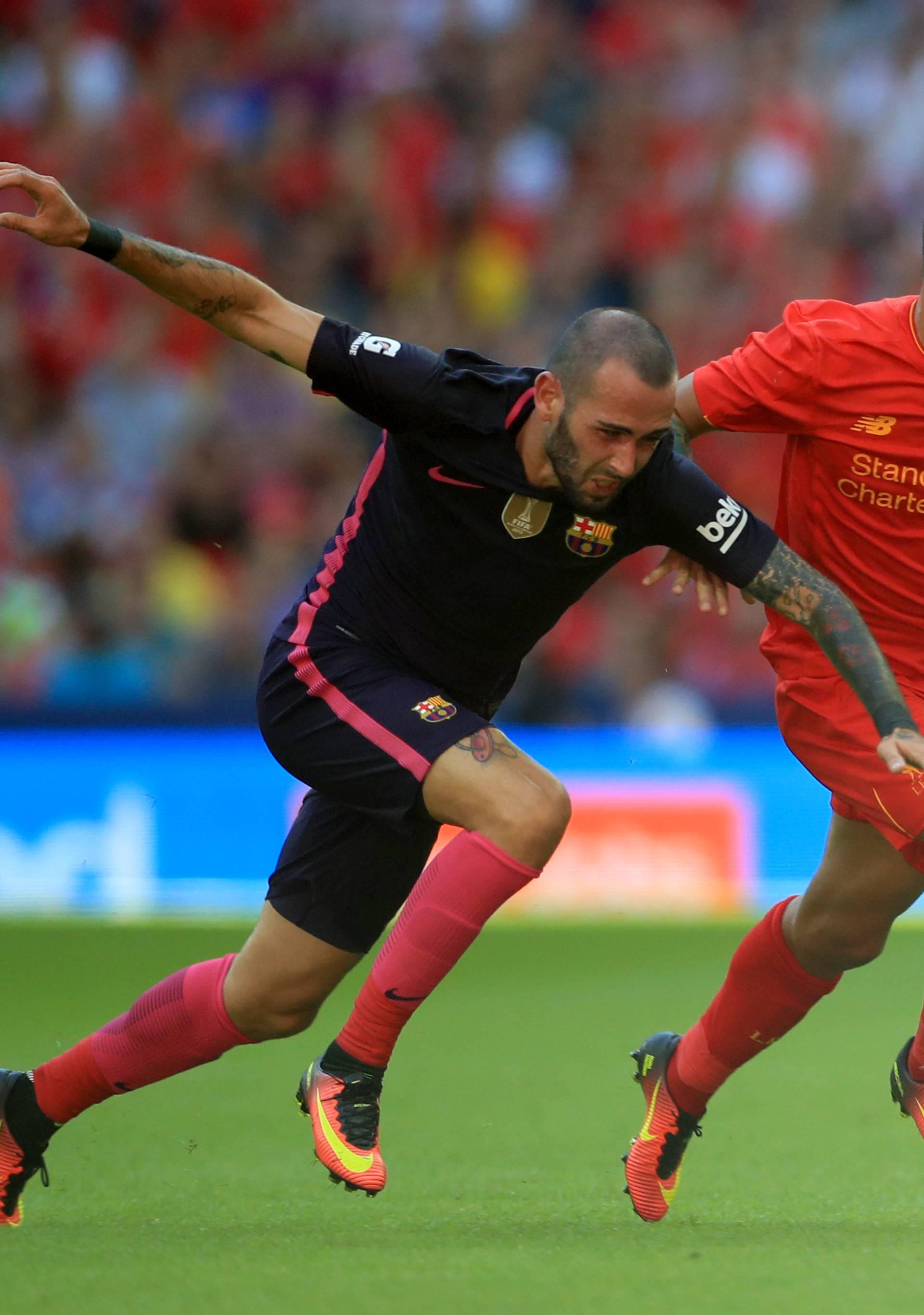 Liverpool v Barcelona - Pre-Season Friendly - Wembley Stadium