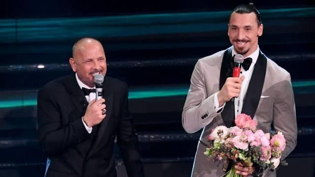 Zlatan i Mihajlović zapjevali na San Remu: Orio se 'Vagabundo'