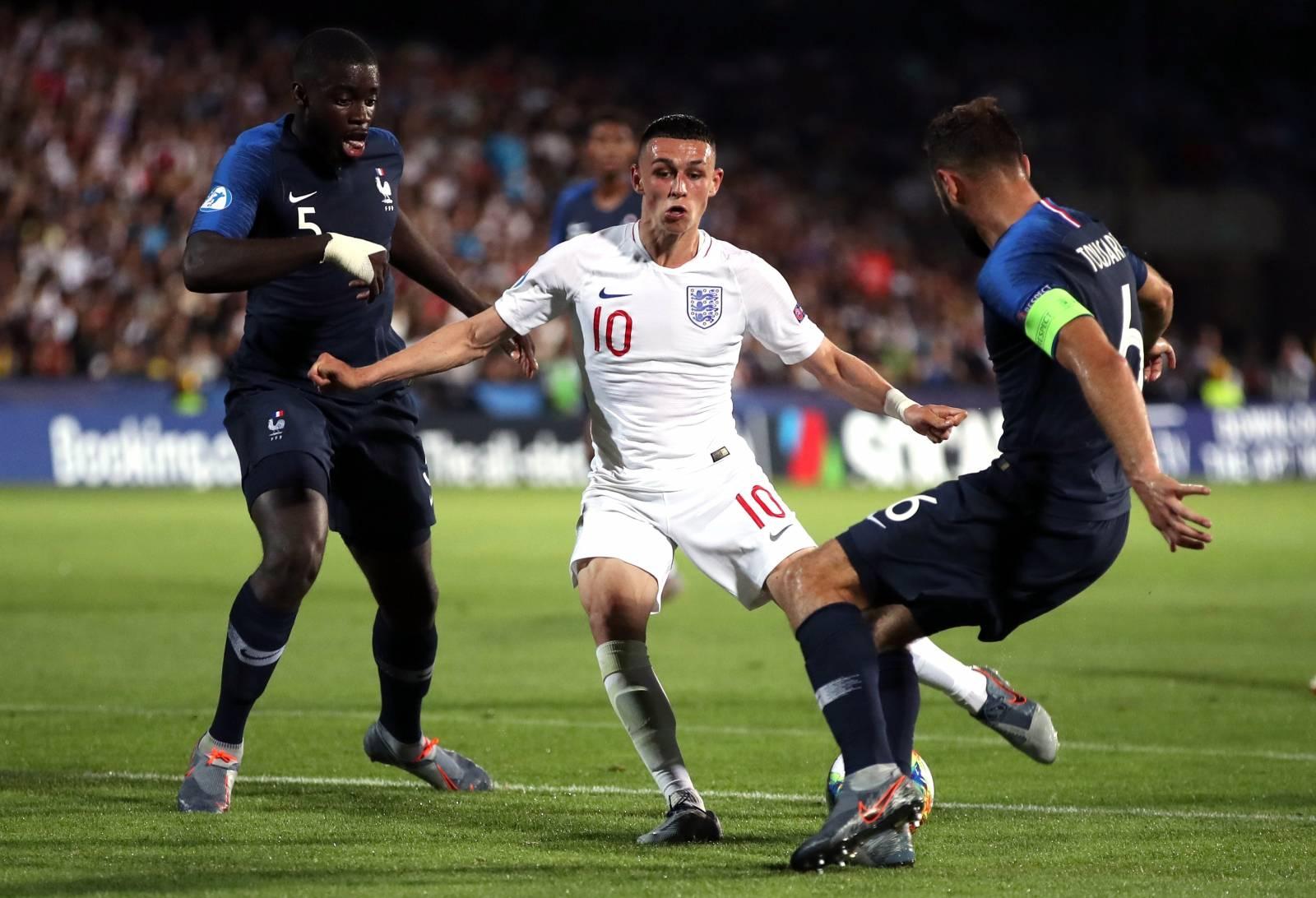 England U21 v France U21 - UEFA European Under-21 Championship - Group C - Dino Manuzzi