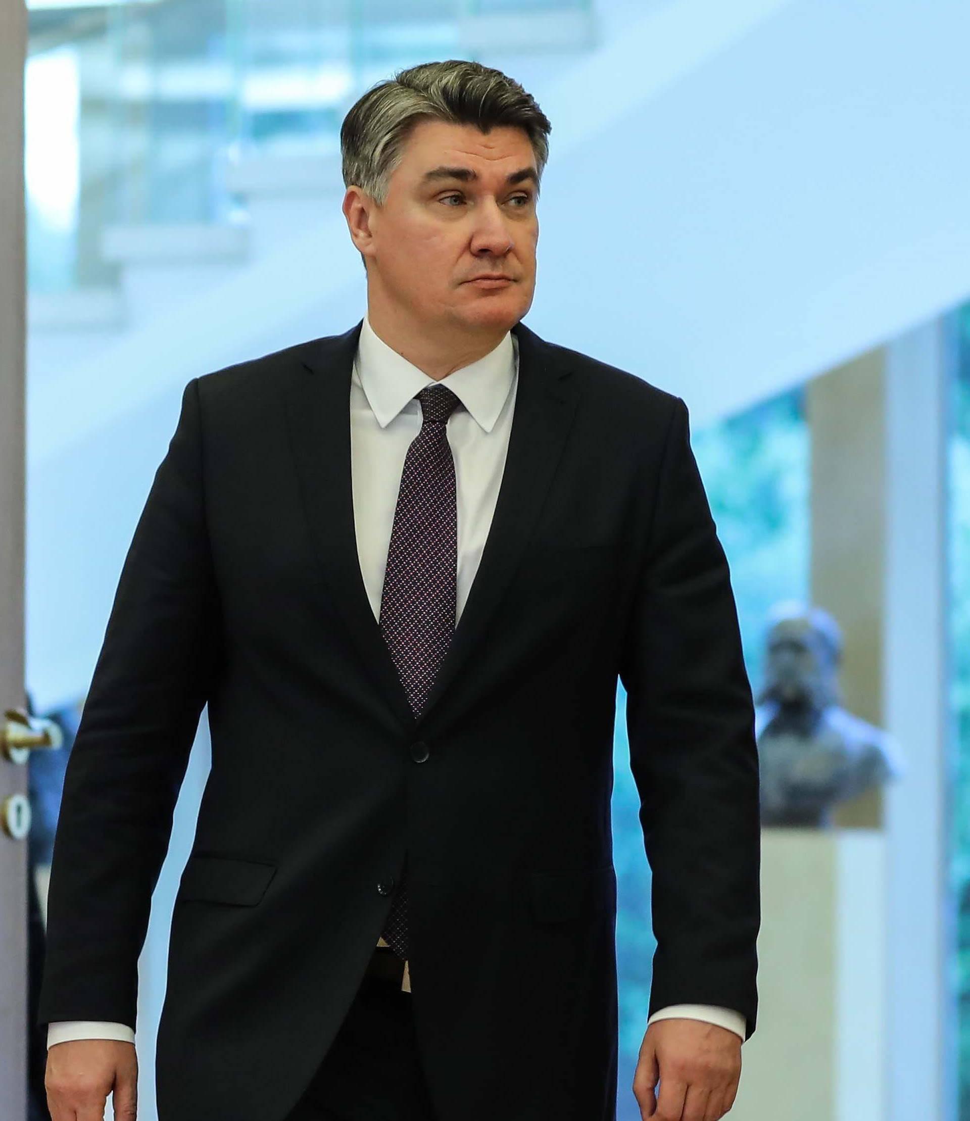 Zagreb: Zoran Milanović sastao se s glavnim tajnikom NATO-a Jensom Stoltenbergom