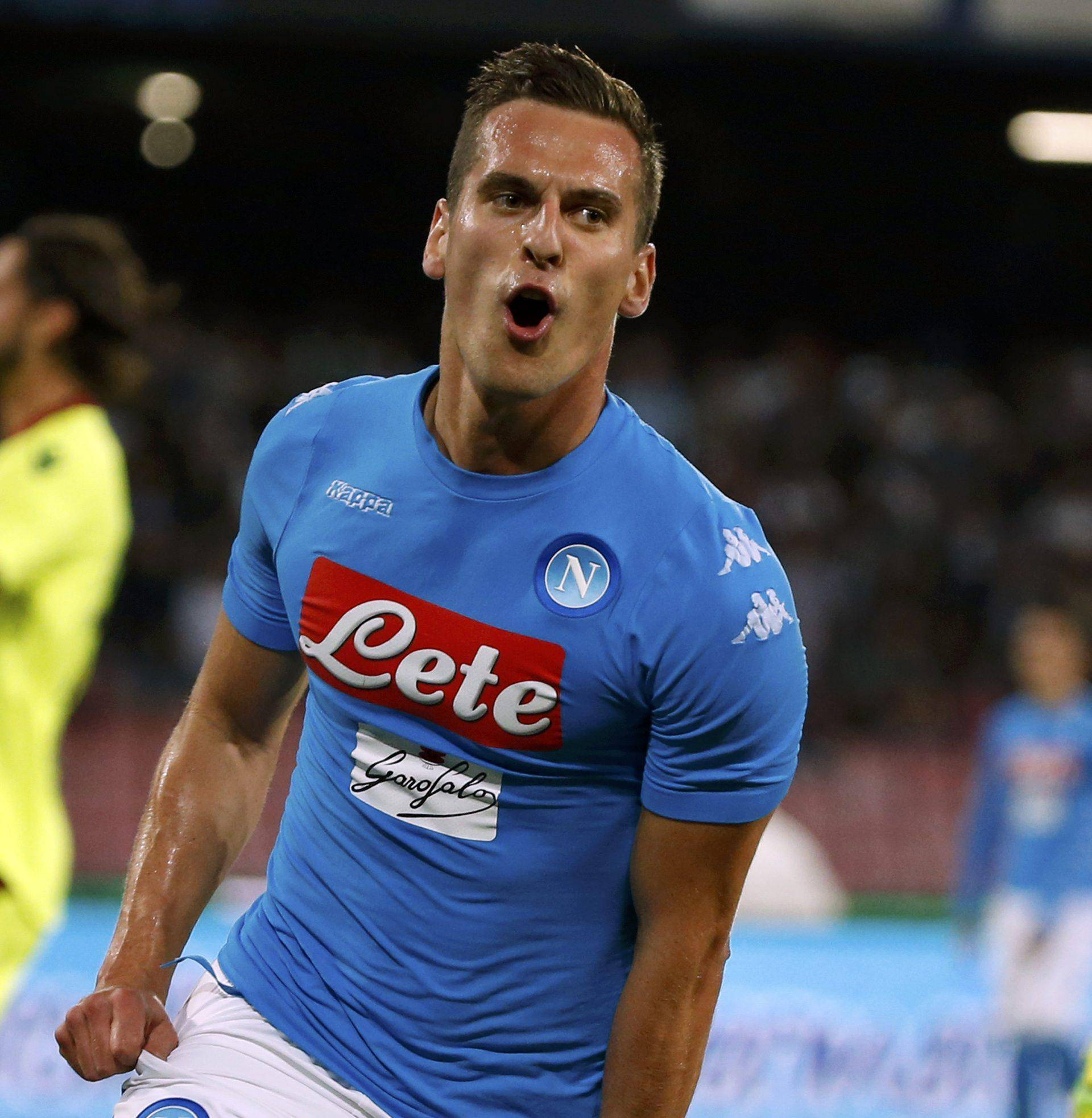 Football - Soccer - Napoli v Bologna - Italian Serie A