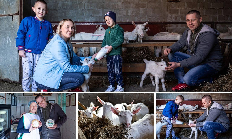 Obitelj Grčević uzgaja koze: Ovo je naša slatka seoska idila
