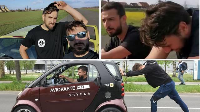 Po novi rekord: Lubenjak će s prijateljem gurati auto 24 sata
