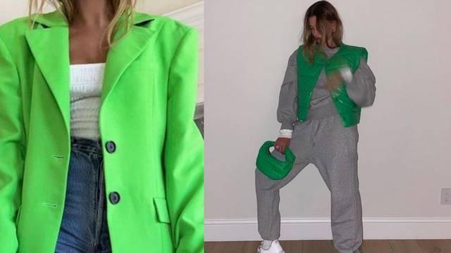 Hailey Bieber voli jabuka zelenu