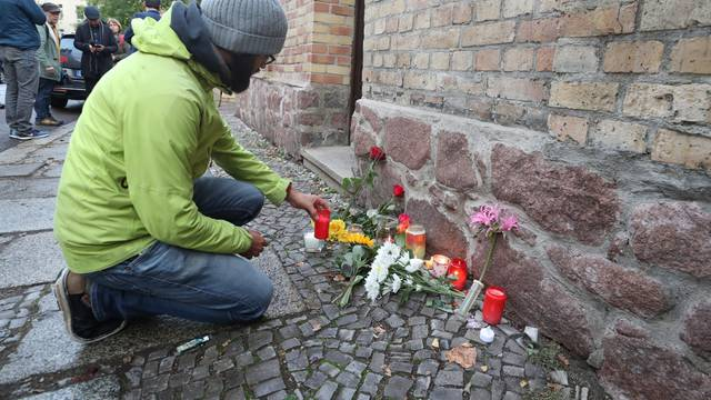 After attack in Halle/Saale - Synagogue