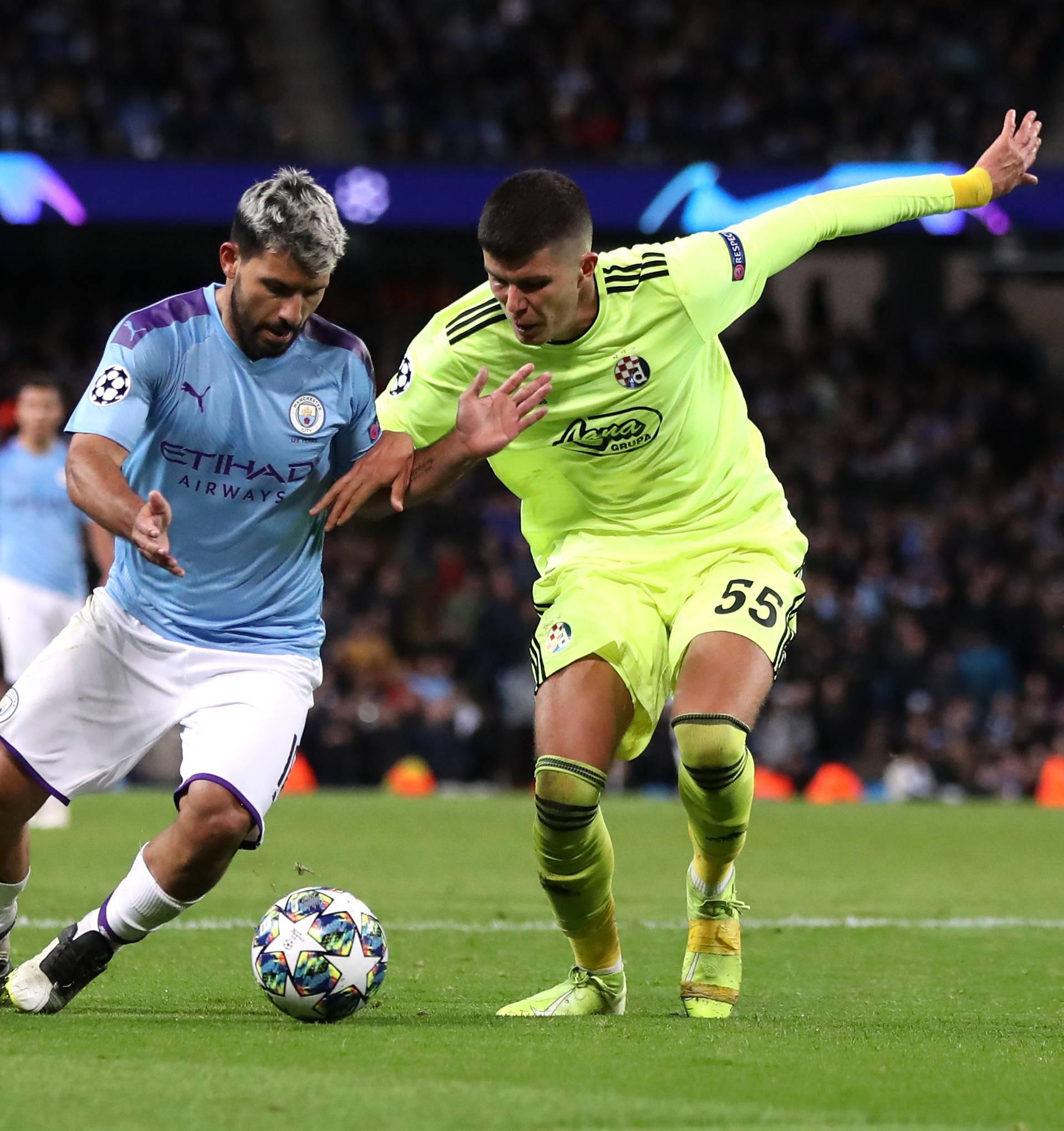 Manchester City v Dinamo Zagreb - UEFA Champions League - Group C - Etihad Stadium