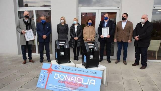 Obrtnička komora Zagreb donirala medicinske uređaje domovima za starije osobe