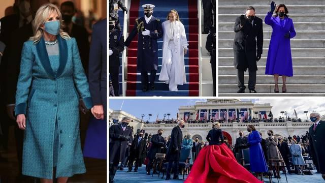 Svi kaputi i outfiti s inauguracije - Jill Biden u simboličnoj boji, a J.Lo i Lady Gaga oduševile sve