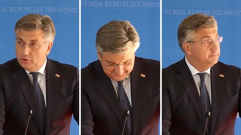 Plenković se naljutio na pitanja o isprici zbog presude HDZ-u: 'Možemo sije mržnju protiv nas'