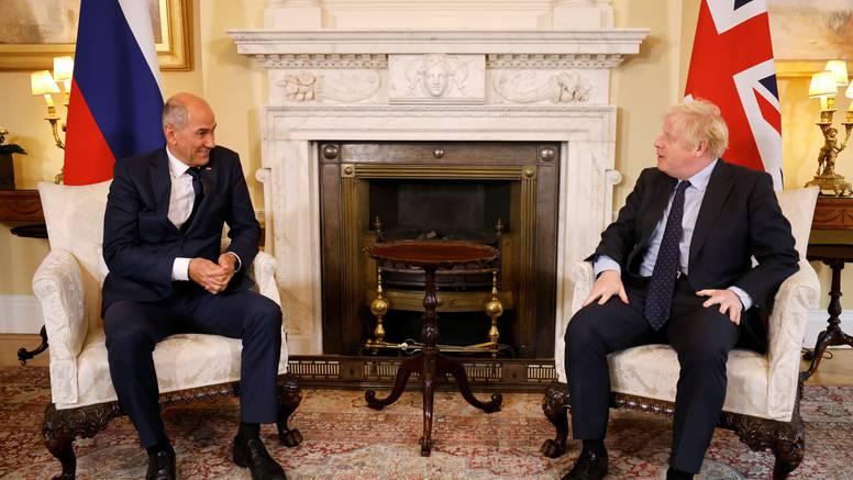 Janša u Londonu: S Johnsonom pričao o Zapadnom Balkanu