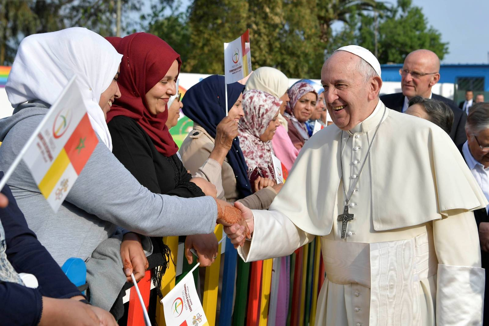 Pope Francis visits Morocco