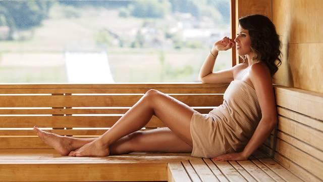 Natali Dizdar opušta se od stresa u Svijetu sauna