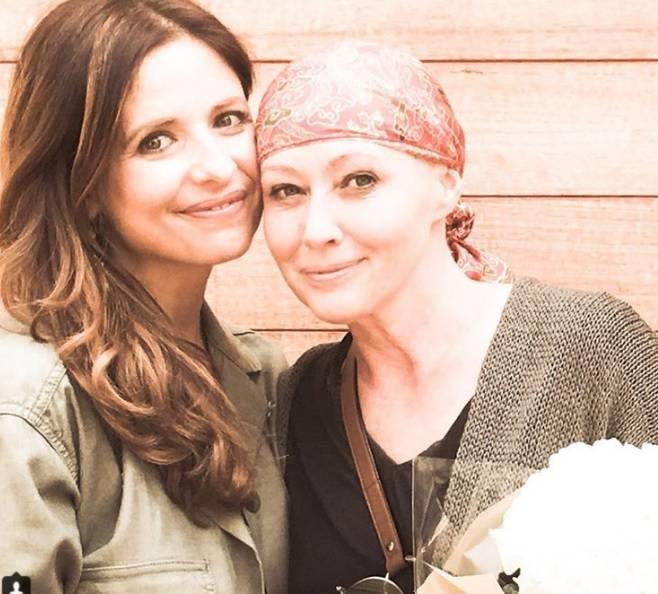 'Buffy' napisala dirljivu poruku za oboljelu prijateljicu Doherty