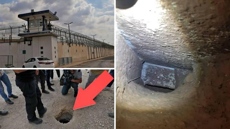 Palestinci kopali tunel hrđavom žlicom i pobjegli iz jednog od najčuvanijih zatvora u Izraelu