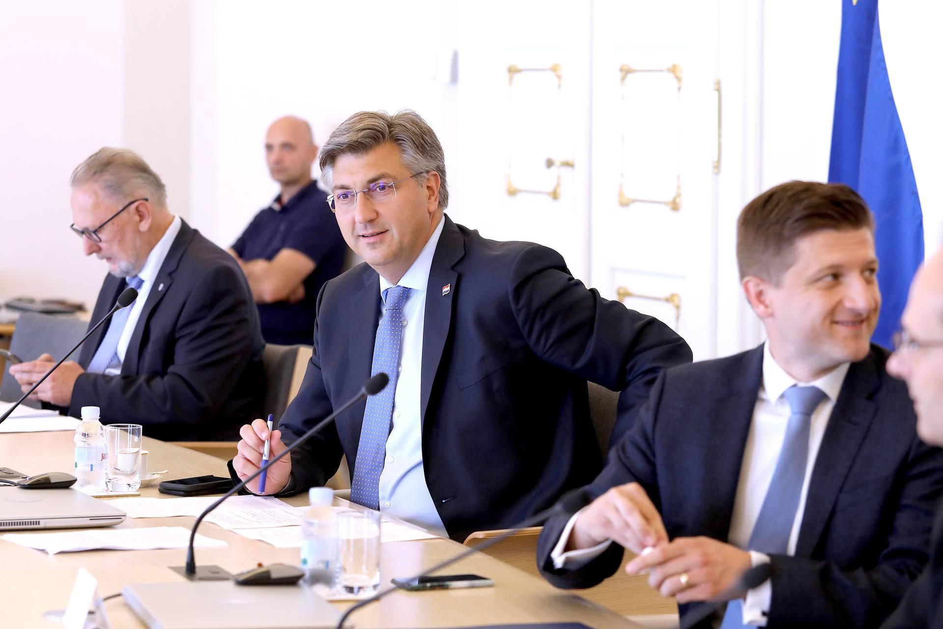 Zagreb: Sastanak Znanstvenog savjeta Vlade RH