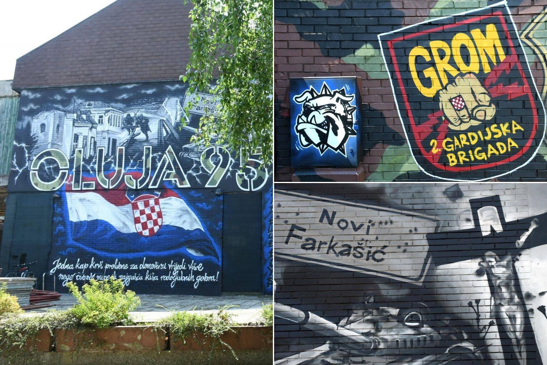 Divna gesta navijača u Petrinji: Osvanuo mural posvećen Oluji