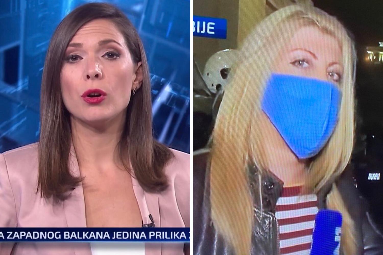 """Žene koje su izvještavale iz pakla Beograda: """"Gutale smo suzavac, ali nismo stale raditi"""""""