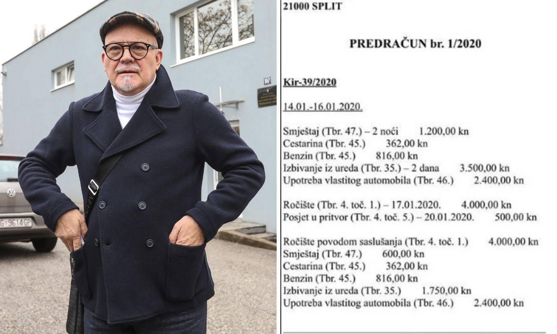 """Objavili Šerićev račun za Filipa Zavadlava: """"To je katastrofa!"""""""