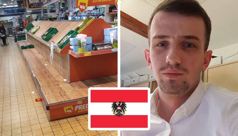 Marijan (25) radi u Austriji: 'U Grazu nitko ne izlazi na ulicu'
