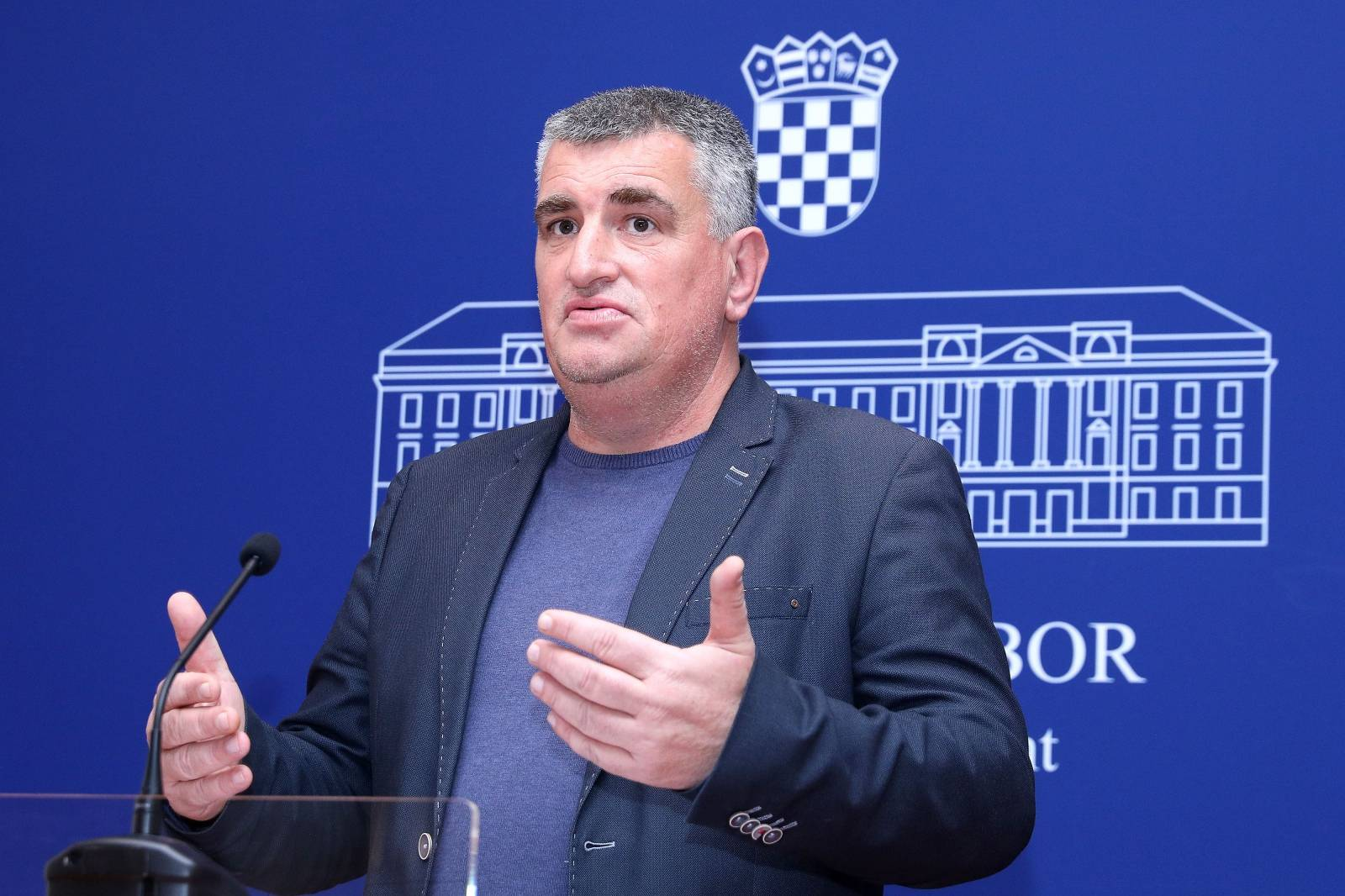 Zagreb: Miro Bulj na konferenciji za medije Kluba zastupnika Mosta