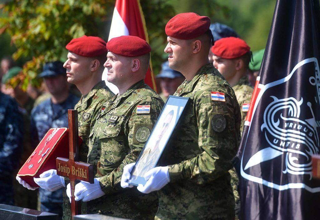 Pokopali Josipa Briškog: 'Na nas si ostavio neizbrisiv trag'