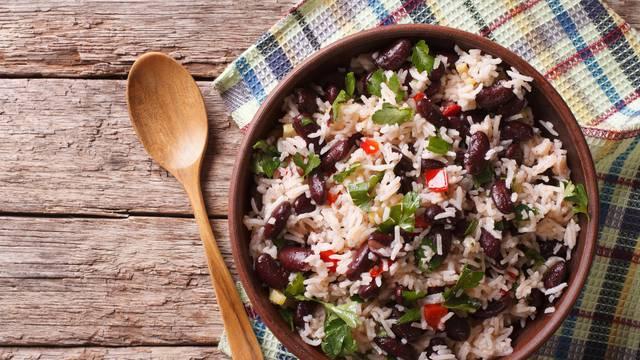 Grah i riža zajedno u jelima čine nutritivno vrlo vrijedan obrok