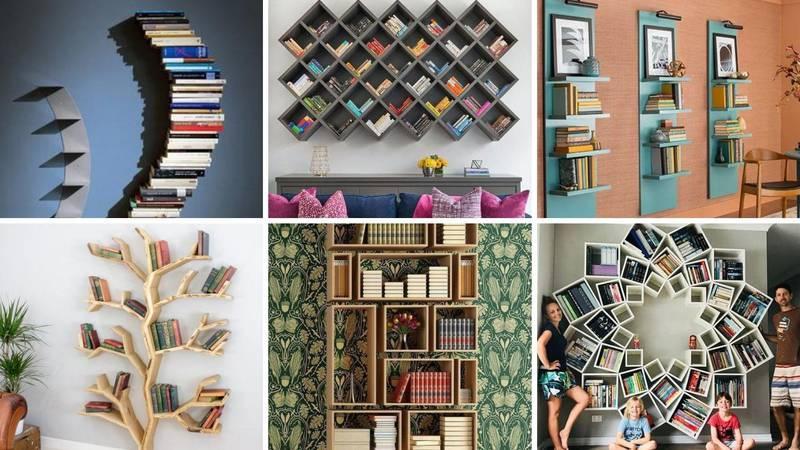 15 ideja kako organizirati knjige u domu, da je i lijepo za vidjeti