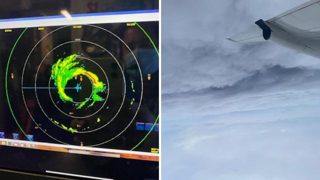 Ekskluzivne fotografije iz oka uragana Delta koji prijeti udarom na Sjedinjene države
