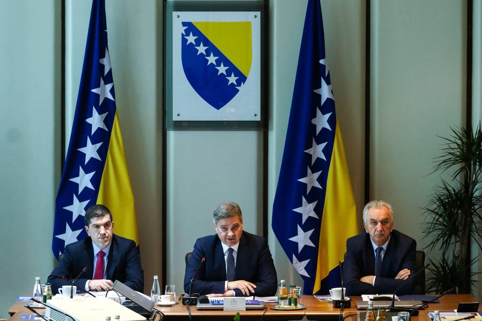 Sarajevo: Konferencija za medije predsjedavajućeg Vijeća Ministara BiH
