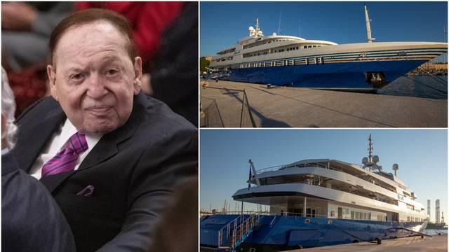 Milijarder Adelson stigao je  u Pulu jahtom dugom 91 metar...