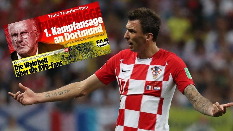 Bayern rekao 'ne' Mandžukiću: Ne treba nam, imamo mi Lewu