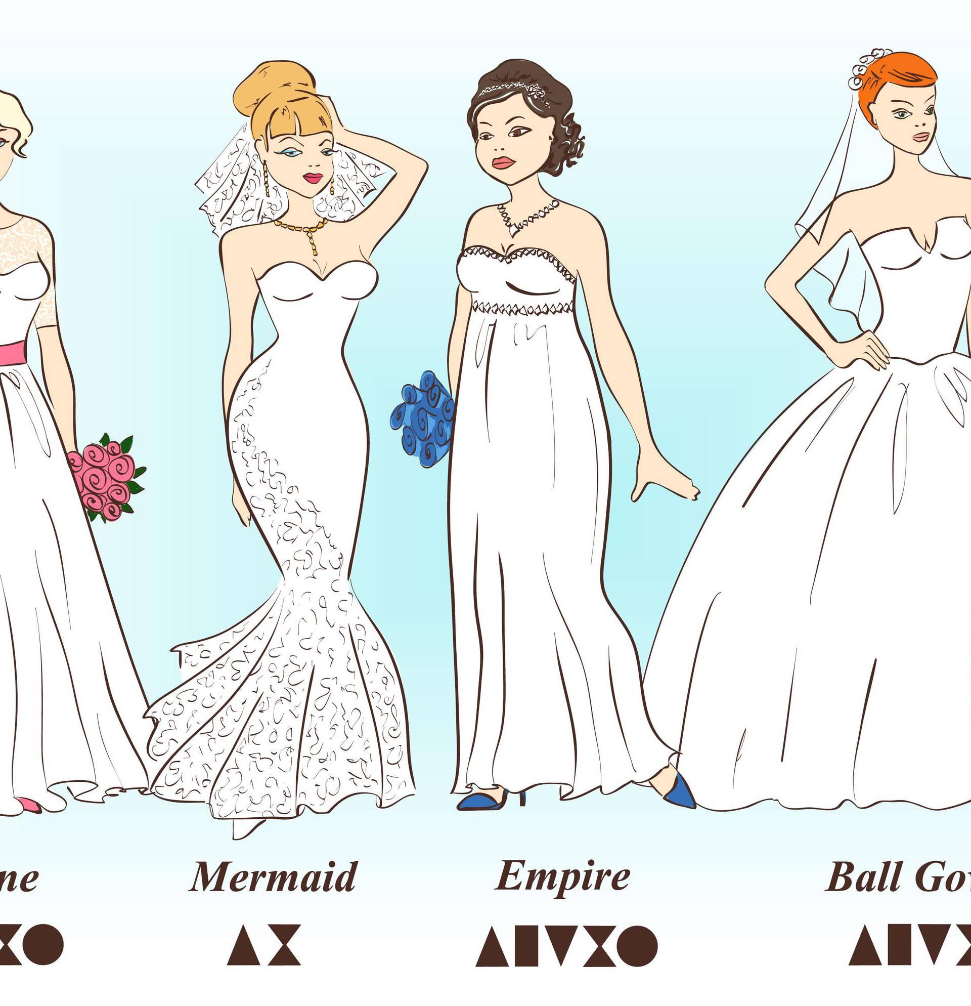 Ona prava - pronađite idealnu vjenčanicu za svoj oblik tijela