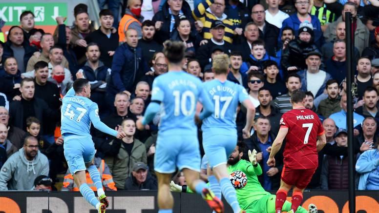 Čudesnih 45 minuta na Anfieldu za remi Liverpoola protiv Cityja