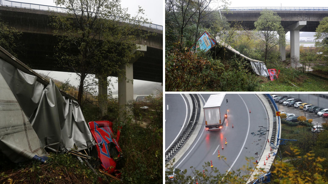 Policija o užasu na vijaduktu u Rijeci: Vozač (26) šlepera teško ozlijeđen, izletio je zbog brzine